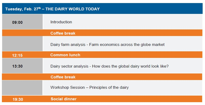 IFCN Dairy Economic Workshop in February 2018