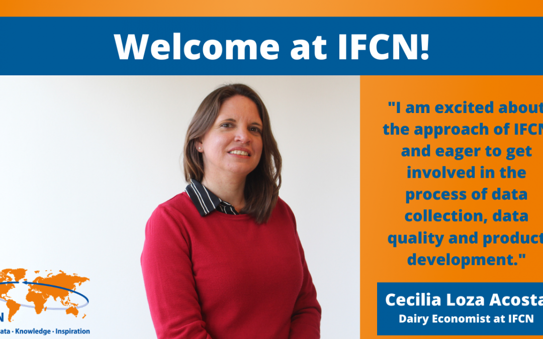 Welcome to IFCN, Cecilia Loza Acosta