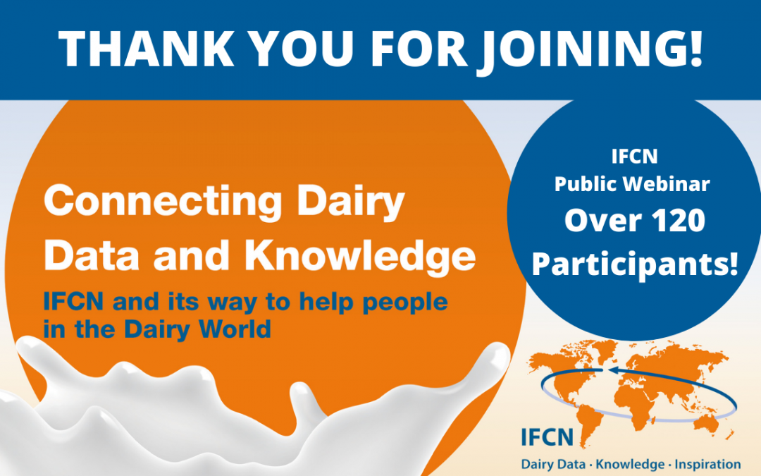 Connecting Dairy Data & Knowledge – First public IFCN event in 2021!