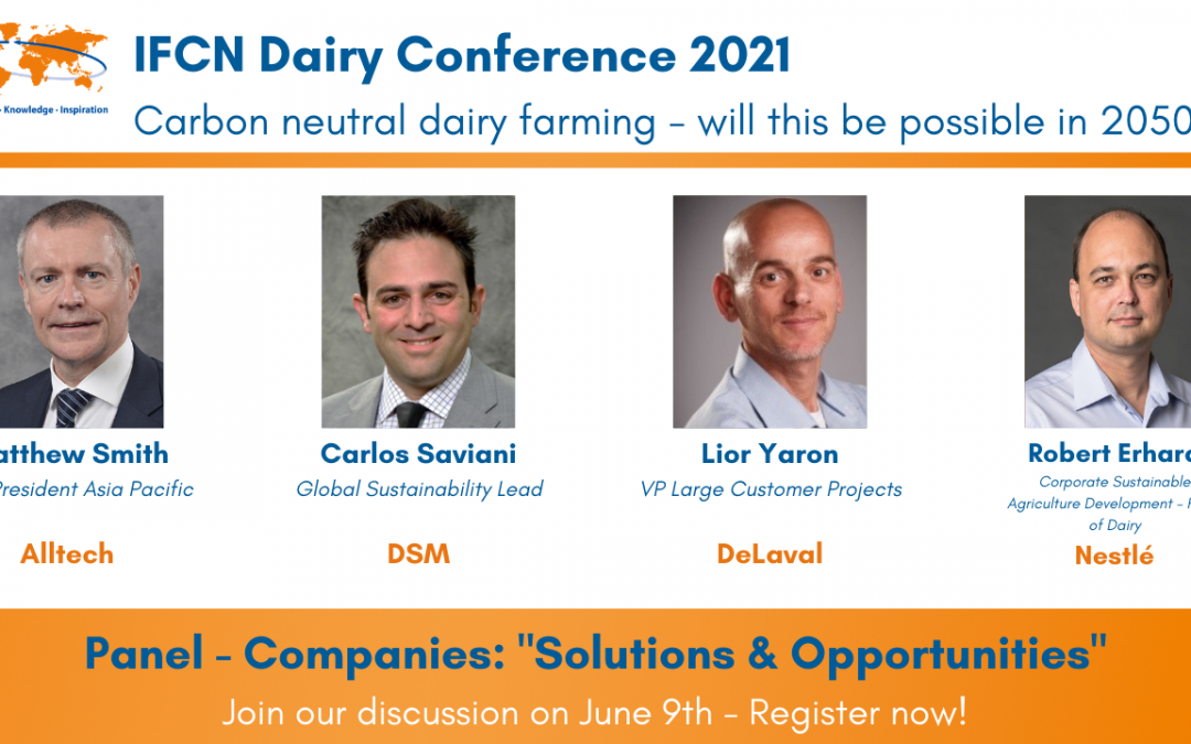 """Dairy Conference Panel – Companies """"Solutions & Opportunities"""""""